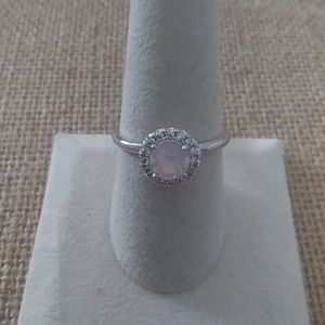 Size 9 Silver Tone Ring